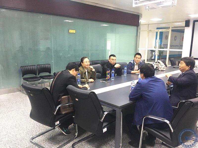 [建筑工程学院]骨干教师到青岛理工大学bim 研究中心调研考察